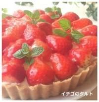 itigo0125-2 イチゴ タルト焼かない簡単人気レシピ!電子レンジで作るジャム!