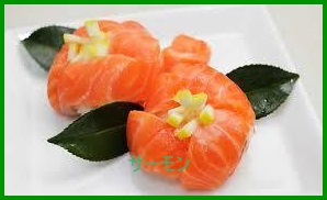 tirasi1 押し寿司(ちらし) ケーキレシピ 誕生日・ひな祭り・結婚式などに