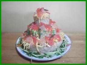 kata 寿司でケーキを作るレシピ 簡単な土台作り