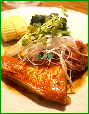 kinn1 金目鯛の煮付け 人気1位レシピ 黄金比タレ