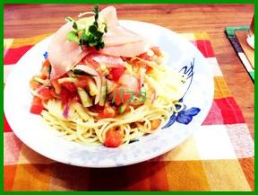 pa1 生ハムの人気で簡単レシピ  パスタを作ってみよう!
