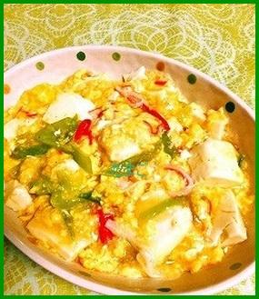 ta1-1 豆腐と卵の人気レシピ あんかけでも美味しい~