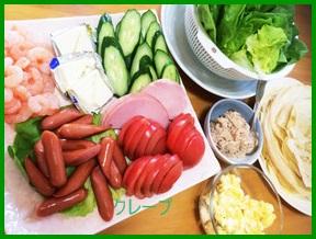 kure1 クレープレシピ 人気の食事になる中身の具まとめ