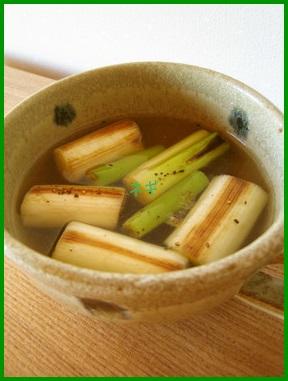 negi1 ネギのスープレシピ ネギの白い部分と緑の部分の違い