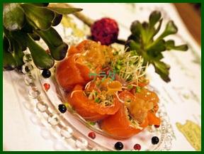 sara1 サラダのおしゃれな盛り付け方を勉強しましょう。