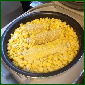 to1-2 とうもろこしご飯人気レシピ クックパッドでつくれぽの多い作り方