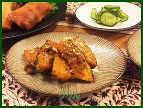 guriru かぼちゃをグリルで簡単調理レシピ