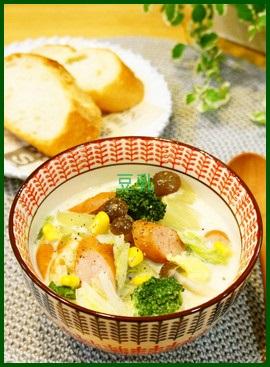 tou1 豆乳スープで作る人気1位レシピは?隠し味は味噌