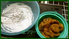 deko1 初心者のデコレーションケーキレシピ 生クリーム塗り方・絞り方
