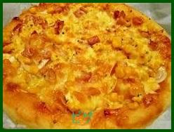fura1 ピザレシピ 小麦粉で作りフライパンで簡単に!