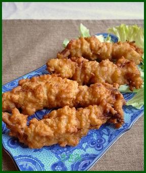 sasami1 鶏 ササミ レシピ 人気 1 位お弁当に!