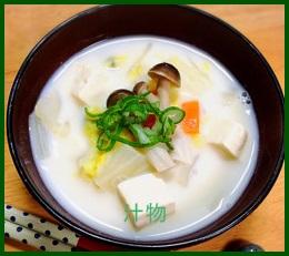 siru1 汁物レシピ 人気具だくさんは豆腐で作る味噌汁