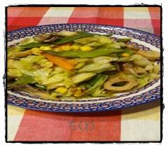 tiku1 ちくわレシピ 煮物はキャベツと一緒に煮込むと美味しい