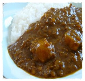 kabo1-300x285 カボチャと鶏ひき肉の煮物の作り方から紹介します。