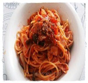 kya1-300x285 ベーコンとキャベツのパスタ トマトソースが1番好きです!