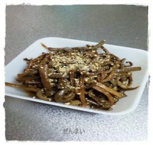 zenn1-300x285 ぜんまいレシピ 人気のナムル・煮物・天ぷらの作り方