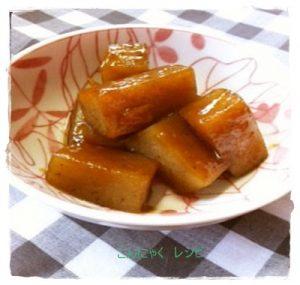 kon1-300x285 こんにゃくだけの煮物レシピ ピリ辛も人気!お弁当・ダイエットにも!