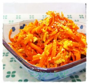 ninn1-300x285 人参の大量消費レシピ 人気で簡単な常備菜・作り置きに!