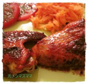 tiki1-300x285 鶏肉レシピ 手羽元はオーブンで照り焼きも簡単・グリルやトースターでも!