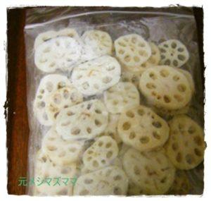 ren1-300x285 レンコンレシピ 人気の作り置き1位は?下処理→冷凍保存方法