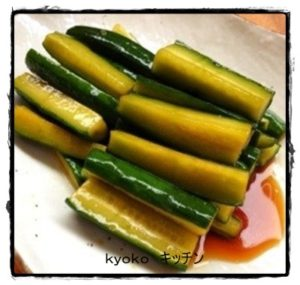 9kyuuri1-300x285 キュウリのレシピ人気1位は? 子供にも簡単サラダや漬物